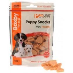 Boxby mini corazones, premios para cachorros