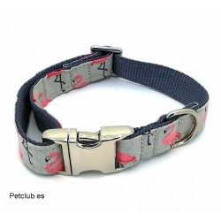 collar para perros flamingos,collar para perros