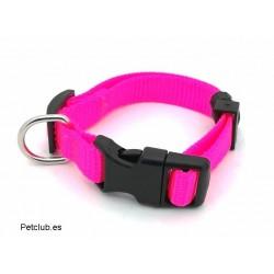 Collar para cachorros, collar rosa para perros, collar para perros pequeños