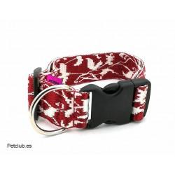 Collar Arppe, collar ancho para perros, collar jacquard