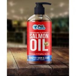 aceite de salmon, aceite de salmon para perros,